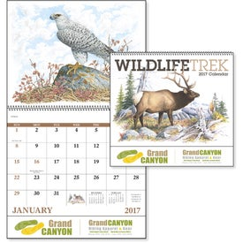 Wildlife Trek Spiral Calendar for Marketing