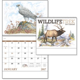 Custom Wildlife Trek Spiral Calendar