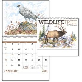 Custom Wildlife Trek Spiral Calendar