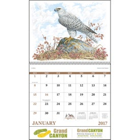 Customized Wildlife Trek Spiral Calendar