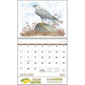 Customized Wildlife Trek Spiral Calendar