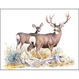 Wildlife Trek Spiral Calendar Imprinted with Your Logo