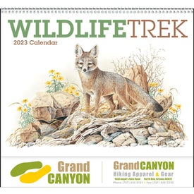 Wildlife Trek Spiral Calendar for Your Organization