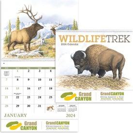 Wildlife Trek Spiral Calendar (2017)