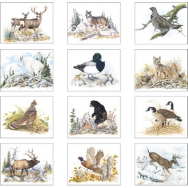 Promotional Wildlife Trek Stapled Calendar