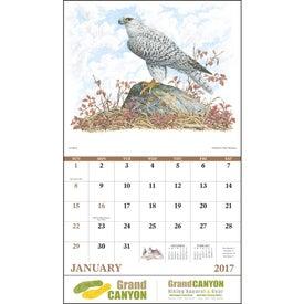 Wildlife Trek Stapled Calendar Giveaways