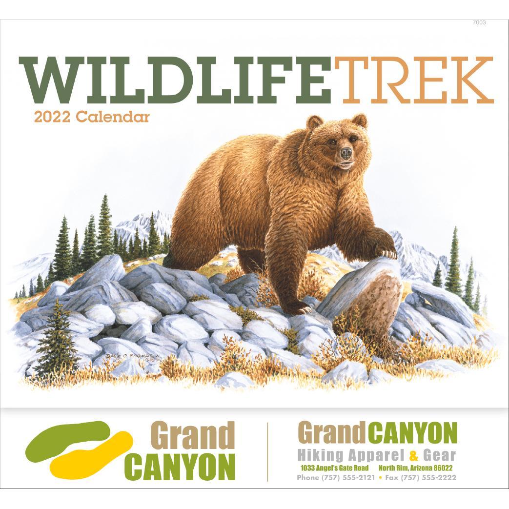Wildlife Trek Stapled Calendar (2020)
