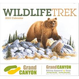 Wildlife Trek Stapled Calendar for Customization