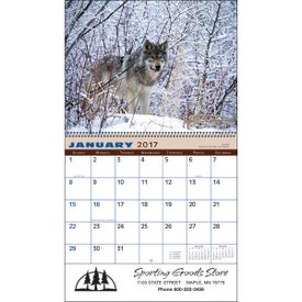Wildlife Wall Calendar Giveaways