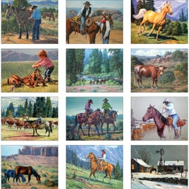 Printed Wildlife Wall Calendar