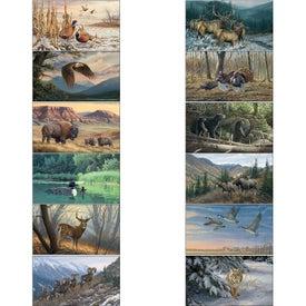 Wildlife Art - Executive Calendar with Your Logo