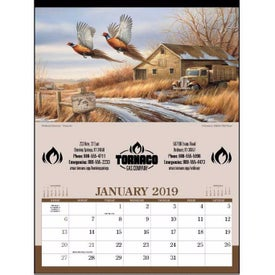 Wildlife Art - Executive Calendar (2020)