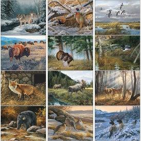 Customized Wildlife Art Executive Calendar
