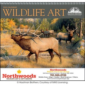 Imprinted Wildlife Art by the Hautman Brothers Calendar