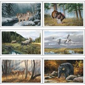 Wildlife Art Executive Calendar with Your Logo