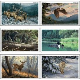 Wildlife Art Executive Calendar Giveaways
