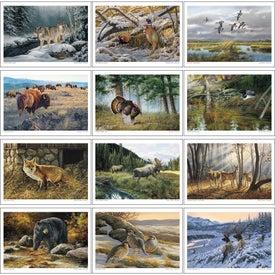 Branded Wildlife Art Executive Calendar