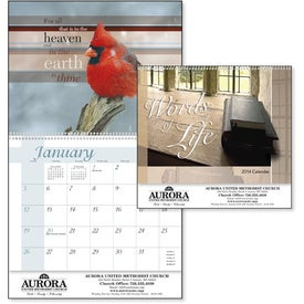Branded Words of Life Calendar