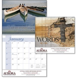 Words of Life Calendar for Promotion