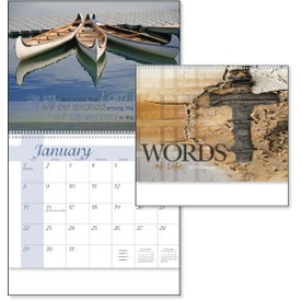 Words of Life Calendar for Customization