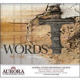 Words of Life Calendar Giveaways