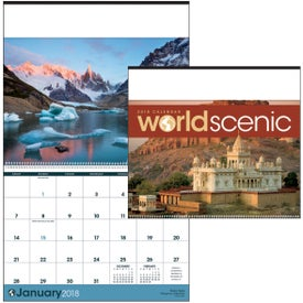 World Scenic Executive Calendar for Advertising