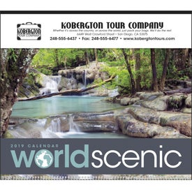 "World Scenic Executive Calendar (14"" x 23"", 2020)"