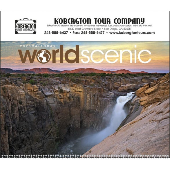 World Scenic Executive Calendar