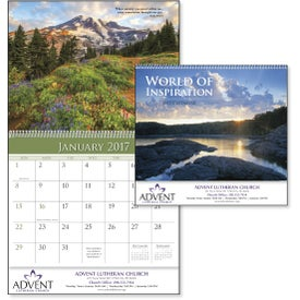 Promotional World of Inspiration Appointment Calendar