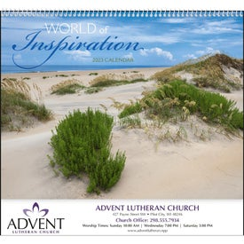 World of Inspiration Appointment Calendar (2017)
