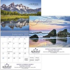 Custom World of Inspiration Appointment Calendar