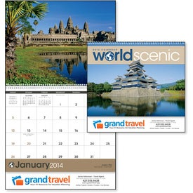 Advertising World Scenes Appointment Calendar