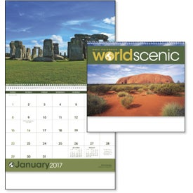 World Scenes Appointment Calendar (2020)