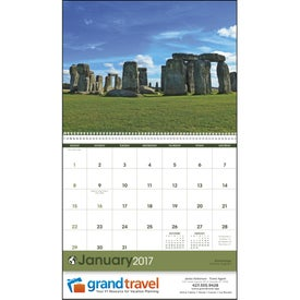 World Scenes Appointment Calendar for Your Company