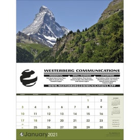 World Scenic (Executive Calendar, 2017)