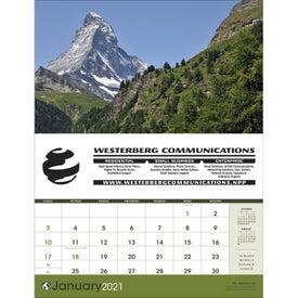 World Scenic (Executive Calendar, 2020)