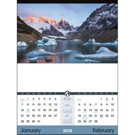 Custom World Scenic - Executive Calendar
