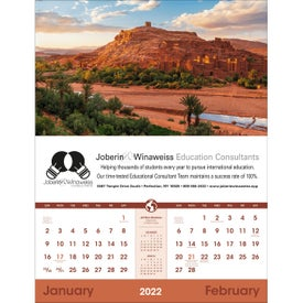 World Scenic - Executive Calendar (2020)