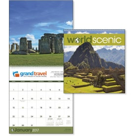 World Scenic Executive Calendar for your School