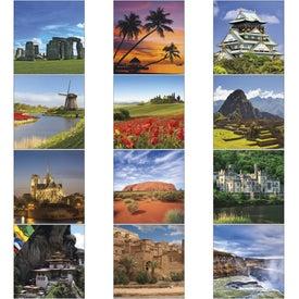 Company World Scenic Executive Calendar