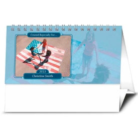 Custom Your Name Here Desk Calendar