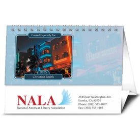 Branded Your Name Here Desk Calendar