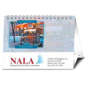 Printed Your Name Here Desk Calendar