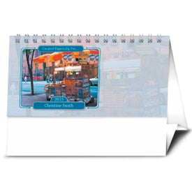 Your Name Here Desk Calendar for Your Organization