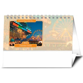 Promotional Your Name Here Desk Calendar
