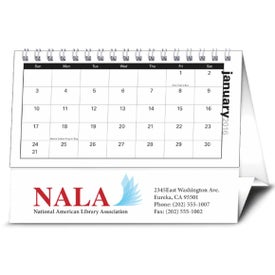 Company Your Name Here Desk Calendar