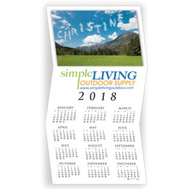 Customized Your Name Here Greeting Card Calendar
