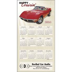Logo Z-Fold Greeting Card Calendar