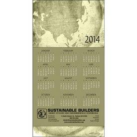 Branded Z-Fold Greeting Card Calendar