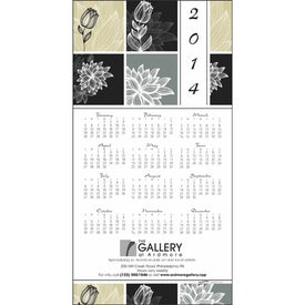 Customized Z-Fold Greeting Card Calendar